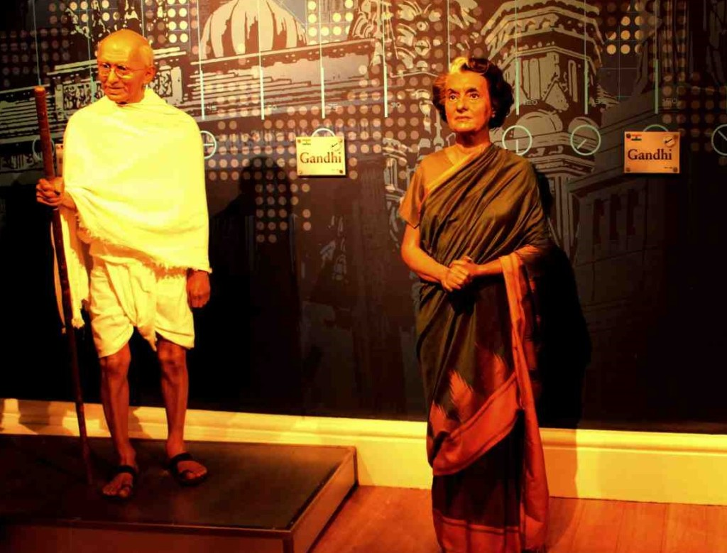 1 - Mahatma Gandhi - First Indian at Tussauds (in 1960)