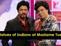 Wax Statues of Indians at Madame Tussauds Museum