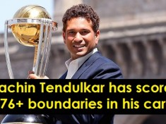 cover - 10 Records Of Sachin Tendulkar Which Will Not Be Broken In Near Future.!!