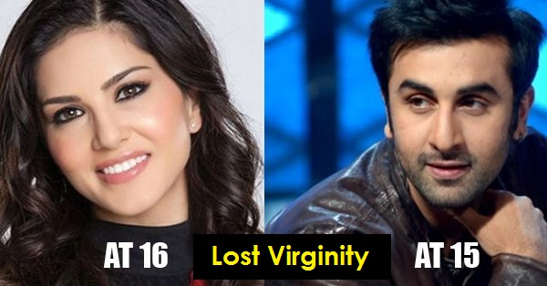 Age celebrities lost virginity