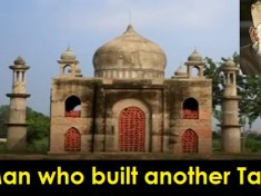 cover - Meet The Man Who Built Another Taj Mahal For His Wife Who Died Of Cancer.!!