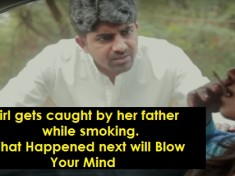 cover - This Girl Was Caught By Her Father While Smoking And What Happened Next Is EPIC.!!