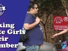 cover - This Guy Asked Phone Numbers Of Cute Girls What They Did Next Is A Must Watch.!!
