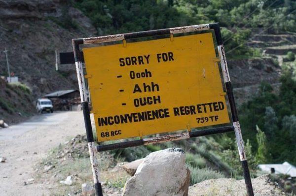 1 - 20 Sarcastic Sign-Boards From Leh-Manali Highway.!!