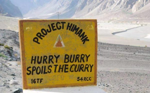 15 - 20 Sarcastic Sign-Boards From Leh-Manali Highway.!!