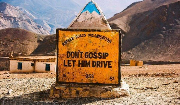 20 - 20 Sarcastic Sign-Boards From Leh-Manali Highway.!!