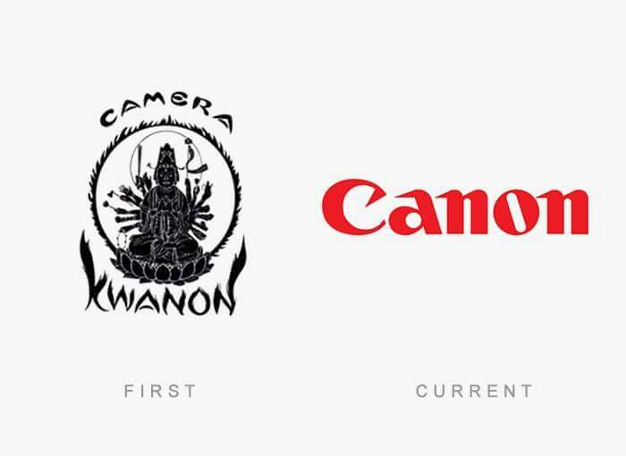 28 - The Evolution Of These 30 Famous Logos Will Shock You.!!