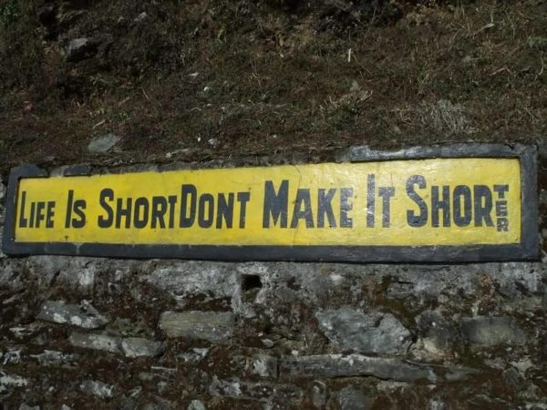 8 - 20 Sarcastic Sign-Boards From Leh-Manali Highway.!!