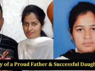 cover - Inspirational Story  Shruti Became A Judge In The Same Court Where Her Father Sold Tea All His Life.!!