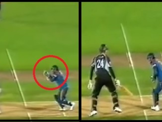 cover - Video  When Oram Was Dismissed Twice Off 1 Ball By MS Dhoni.!!