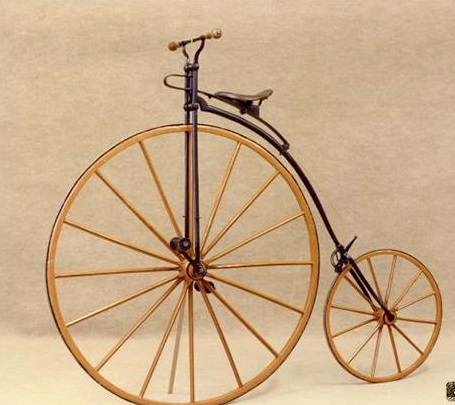 5 - World's First Bicycle