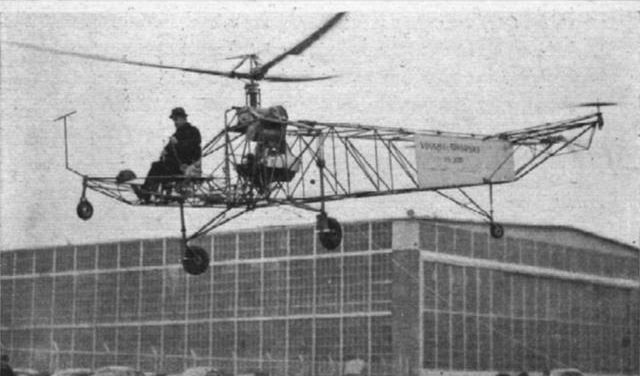 8 - World's First Helicopter