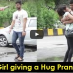 Girl Played A Hug Prank On Strangers, What Happened At ..