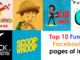cover - Top 10 Entertainment Facebook Pages of India.!!