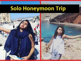 cover - Woman Went To Honeymoon Alone As Her Husband Was Denied VISA & She Rocked It With Funny Pics.!!