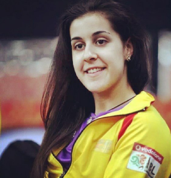 2 - 15 Pics Of Carolina Marin Who Won Gold Against Sindhu Will Make You Love Her.!!