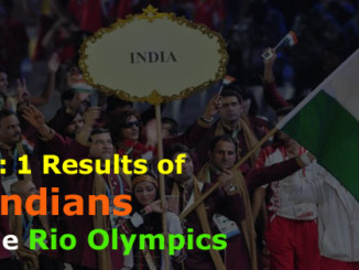 cover - Rio Olympics 2016, India's Day 1 Performances.!!