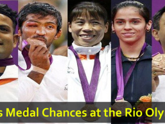 cover - 10 Medal Chances For India At The Rio Olympics