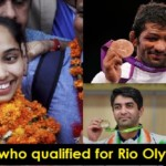 India's Full List Of Athletes At The Rio Olympics 2016.!!