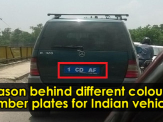 cover - Here's The Reason Behind Indian Vehicles Different Coloured Number Plates.!!