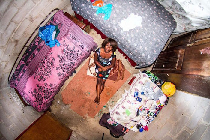 11 - 21 Aerial Pictures Of People's Bedrooms Perfectly Capture The Essence Of Their Life.!!