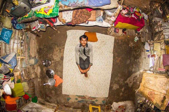 3 - 21 Aerial Pictures Of People's Bedrooms Perfectly Capture The Essence Of Their Life.!!