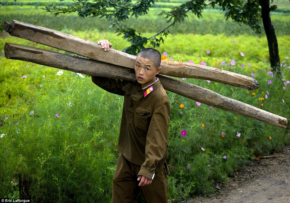 5 - This Photographer Was Banned Because He Took Some Never Seen Photos In North Korea.!!