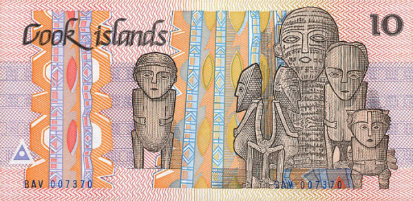 Cook Island - 26 Beautiful Currency Notes From All Around The World.!!