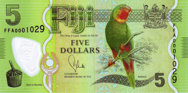 Fiji - 26 Beautiful Currency Notes From All Around The World.!!