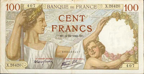 France - 26 Beautiful Currency Notes From All Around The World.!!