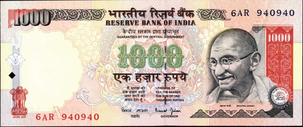 India - 26 Beautiful Currency Notes From All Around The World.!!