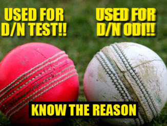 cover - Here's Why Pink Ball Is Used In Day-Night Test Matches Instead Of Red & White Ball!!