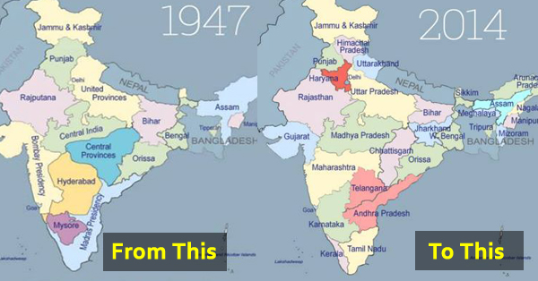Here's How India Went From 17 To 29 States.!! | TVM on india map colors, india geography, india physical and political map, india central states, india tamil culture, india states and cities, india political map 2013, a map of states and confederate border states, india plate map, india on map, india under british rule, india city, india map mauryan empire, 2014 india map states, india caste system map, india map outline, india flag peace symbol, india population map by state, india west bengal map location, india museum map,
