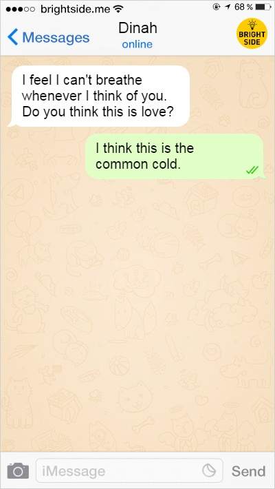 10 - 15 Text Conversations That Will Provoke Your Belief In Love.!!