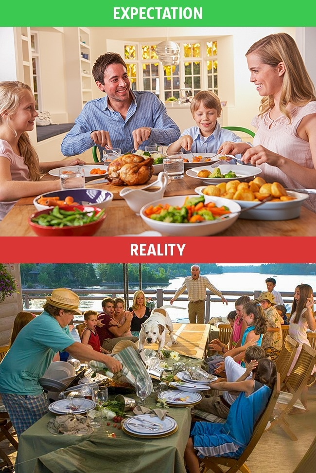 9 - These Pics Perfectly Explains Family Life Expectation Vs Reality.!!