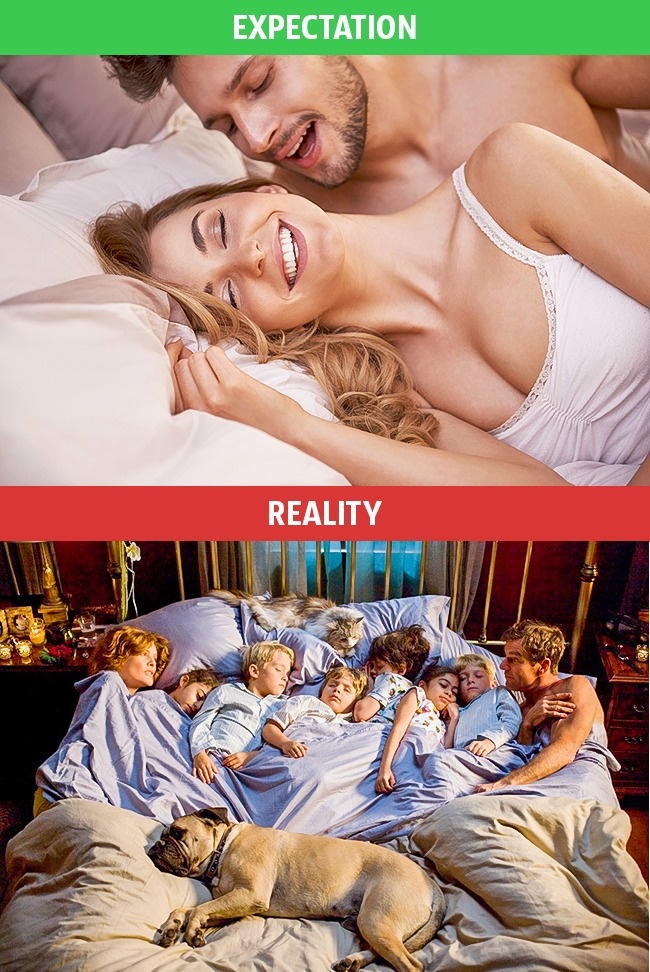 2 - These Pics Perfectly Explains Family Life Expectation Vs Reality.!!
