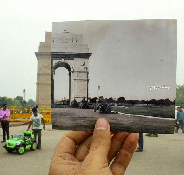 2 - This Guy's Then & Now Pictures of Delhi Is The Best Thing On The Internet.!!