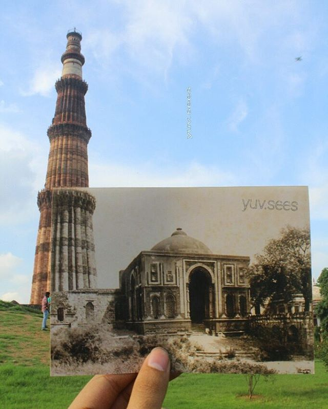 6 - This Guy's Then & Now Pictures of Delhi Is The Best Thing On The Internet.!!