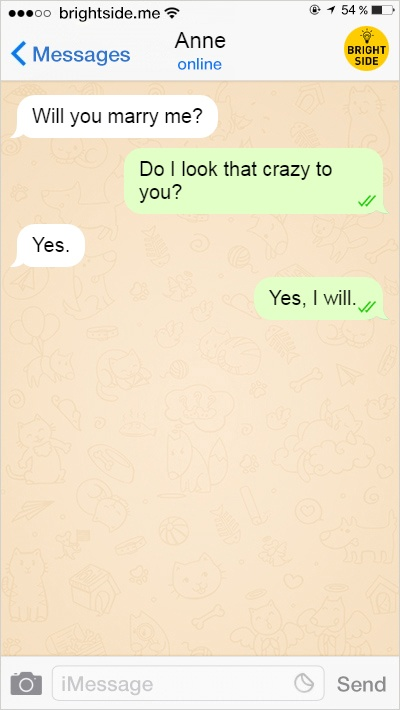 7 - 15 Text Conversations That Will Provoke Your Belief In Love.!!