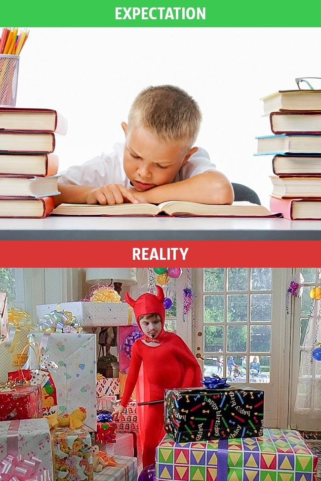 7 - These Pics Perfectly Explains Family Life Expectation Vs Reality.!!