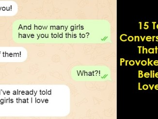 cover - 15 Text Conversations That Will Provoke Your Belief In Love.!!