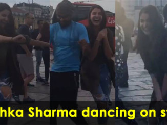 cover - Anushka Sharma's Dance On Lisbon Streets Is All You Need To See Today.!!