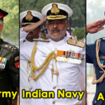 Here's Why The Air Force, Indian Army And Navy Salutes ..