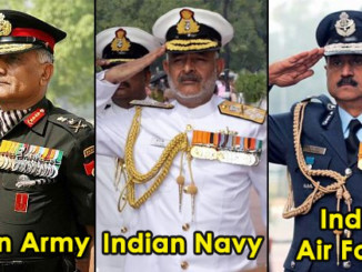 cover - Here's Why The Air Force, Indian Army And Navy Salutes Differ From Each Other.!!