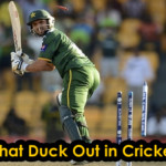 "Here's How ""Duck Out"" Made Its Way Into Cricket.!!"